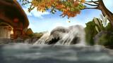 ユクモ温泉(背景)