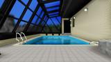 【MMD】ボクなりの『例のプール』構築例