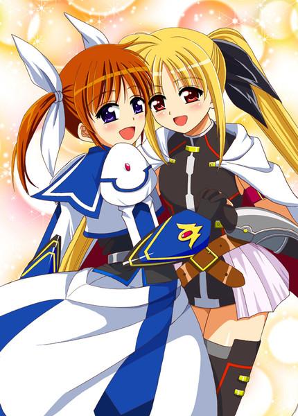 王子様とお姫様(なのフェイ)2