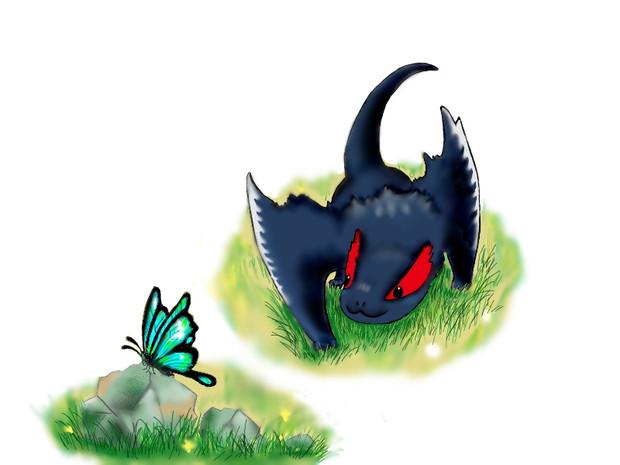 ナルガクルガ幼体