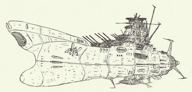改型超弩級宇宙戦艦ムサシ「自作艦」