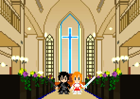 happy wedding (GIF)