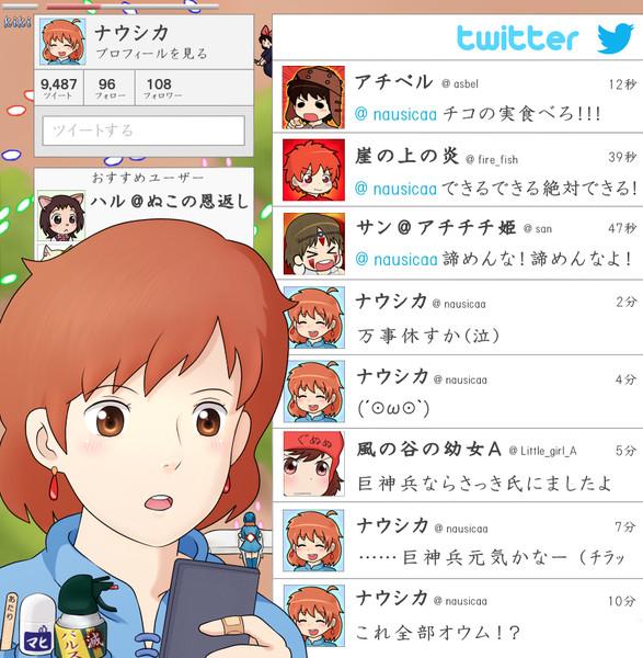 Twitter【ナウシカ】