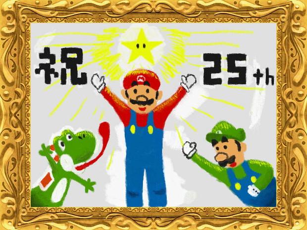 [3DSから]わりと本格的な絵心教室でマリオ描いたった