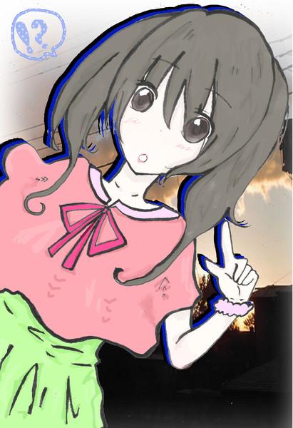 【オリジナル】夕焼け少女