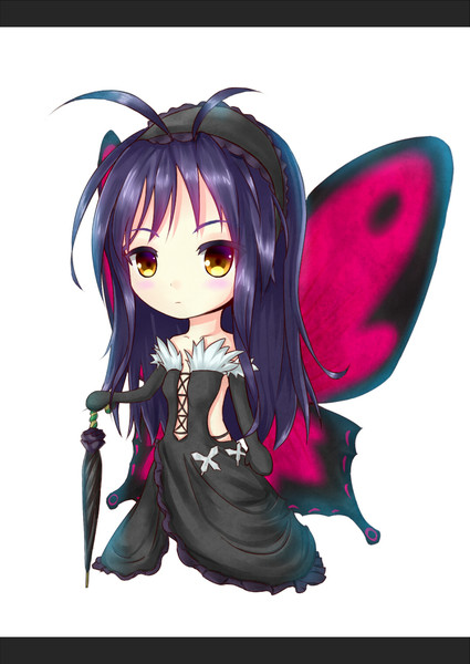 黒雪姫先輩 デフォルメ