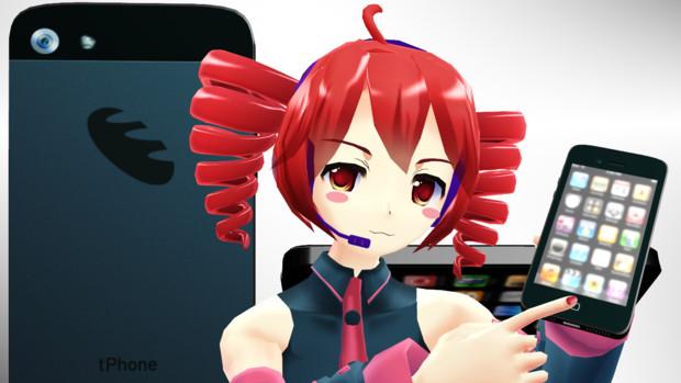 【テトの日2012】iphone5みたいな何か【フライング】