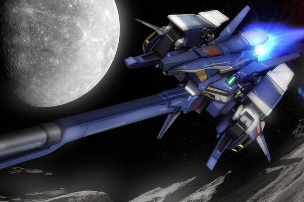 MSZ-008 ZⅡ ウェイブライダー形態