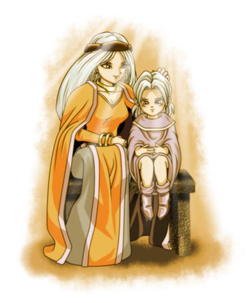 母子像 ~ジールとジャキ~