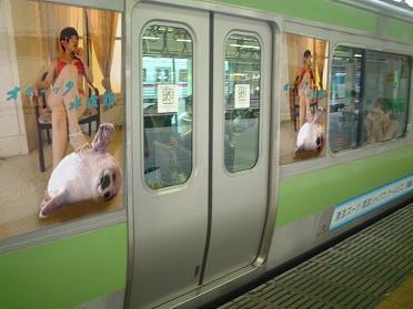 【電車】オホーツク水族館ポスター【広告】