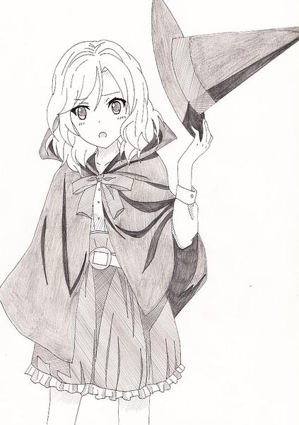 魔女っ子紗季ちゃん ニコニコ静画 イラスト