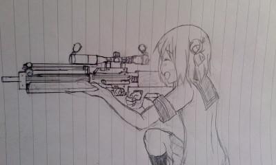わ~い、あかり狙撃だ~いすき