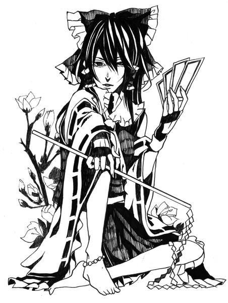 モノクロ綺麗な人憧れる テンpa さんのイラスト ニコニコ静画 イラスト