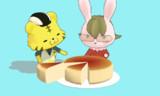 チーズケーキ的なアクセサリ配布