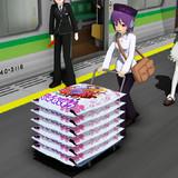 お米を運ぶよ!