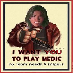 Go Play Medic Chromenf さんのイラスト ニコニコ静画 イラスト