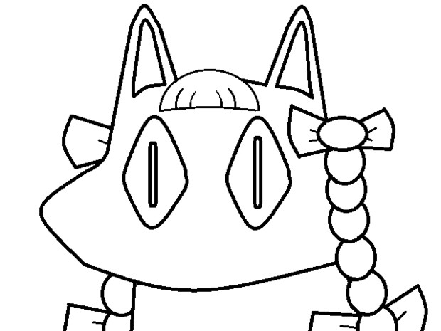 (塗り絵) O☆RI☆N
