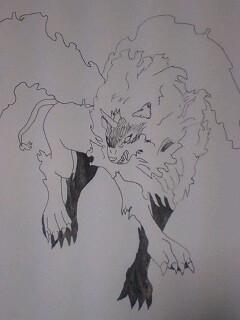 ラフ画 創作獣