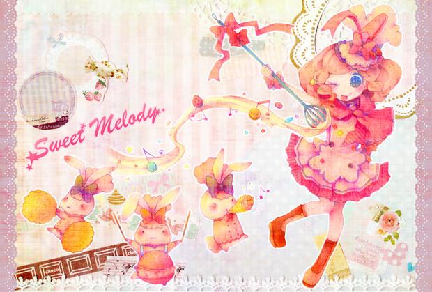 お菓子の女の子 Momo さんのイラスト ニコニコ静画 イラスト