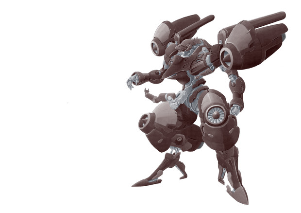 サイフェルト軍試作強襲砲撃型パワーローダー