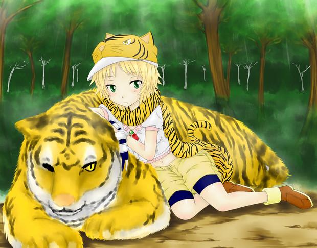 The twelve girls Tiger