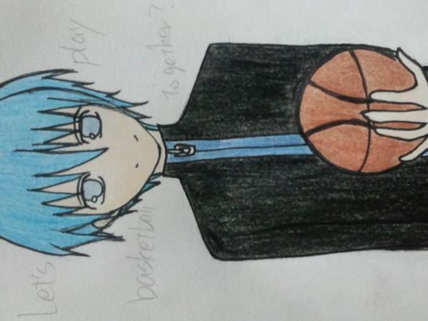 黒子 「Let's play basketball together?」