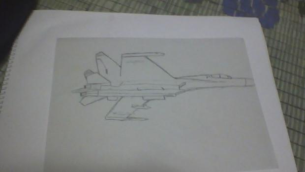 Su-27 何かを修正