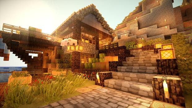 【Minecraft】防衛せよ!城塞都市を築く 第2幕 『交易開始』 ベストショット