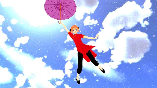 親方空から女の子が はつがまい さんのイラスト ニコニコ静画