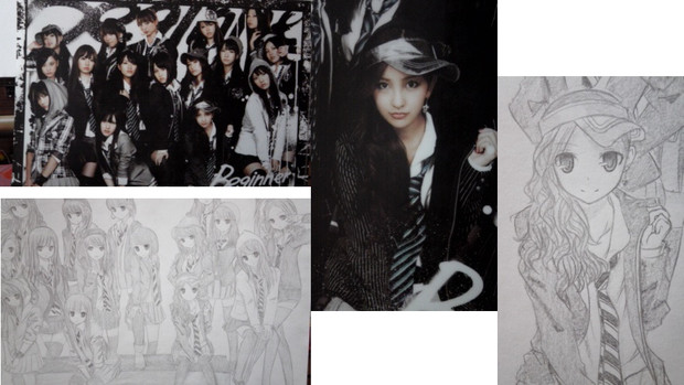 AKB48描いてみた