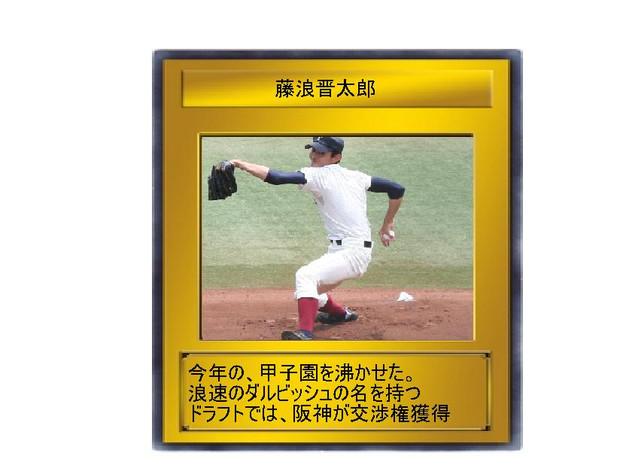 阪神に入った藤波君を召喚!!