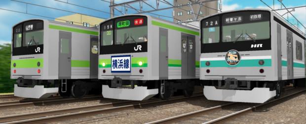 【配布】見慣れた顔の0番台電車