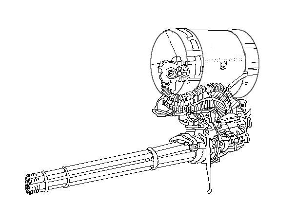 機載式機関砲