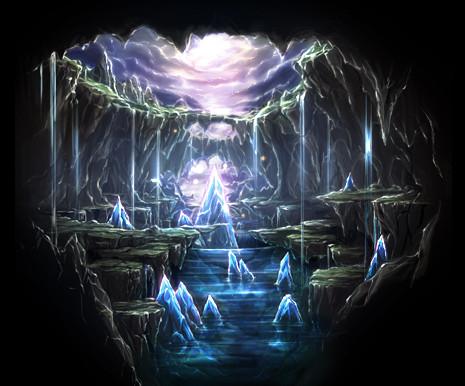 クリスタルの洞窟 Elkcat さんのイラスト ニコニコ静画 イラスト
