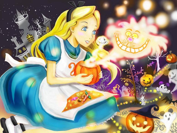 Alice In The Halloween テイタ さんのイラスト ニコニコ静画 イラスト