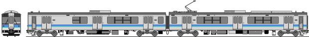 東日本旅客鉄道 E127系100番台(大糸南線) 側面再現4