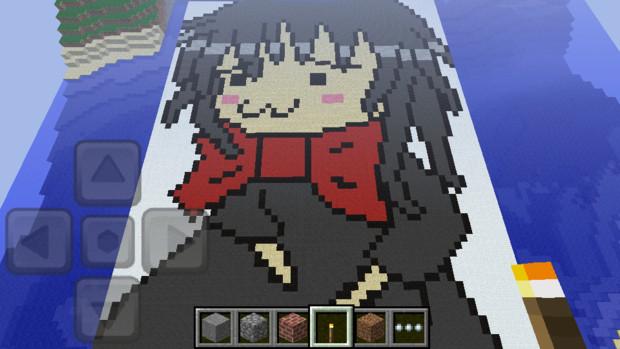 [幼獣にゅえ]雪猫さんお気に入り100人突破記念[MinecraftPE]