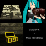 【MMD】Wizardry #1 B1F