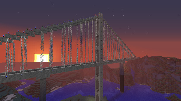【Minecraft】橋