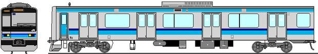 E231系800番台 側面イラスト