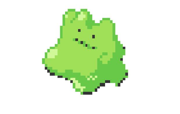 緑色のメタモン