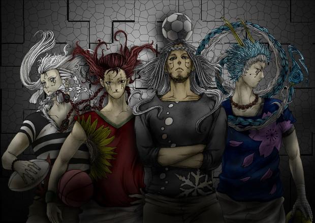 四聖獣 ニコニコ静画 イラスト