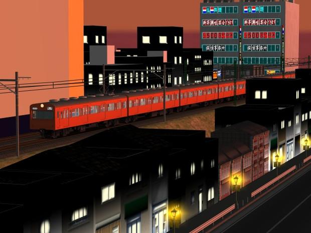 夕焼け小焼けのこの街の一面