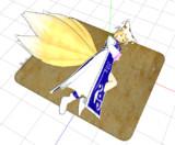 【MMDモデル配布あり】油揚げ【お狐様へのお供え物】
