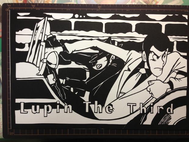 ☆切り絵☆ Lupin The third 【ルパン・次元】