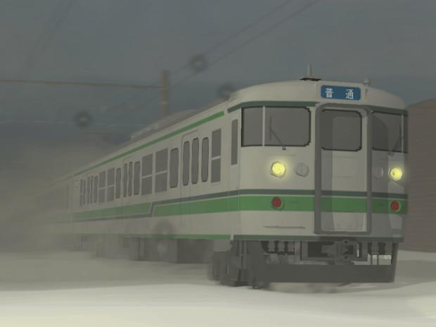 【RailSim】115系新潟色