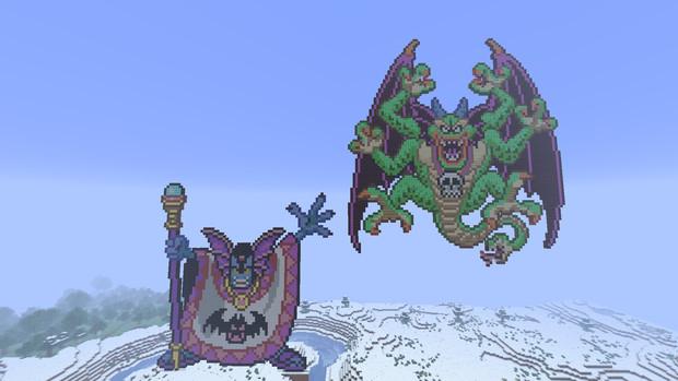 【Minecraft】 ドラゴンクエスト2 ハーゴン&シドー 【マインクラフト】