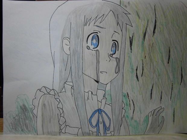「あの花」の11話のメンマを描いてみた。