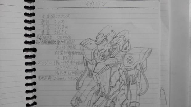 オリジナル人型機動兵器「マカロン」