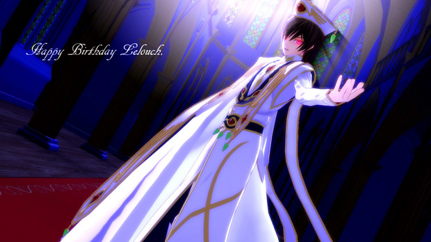 【MMDギアス】Happy Birthday Lelouch!